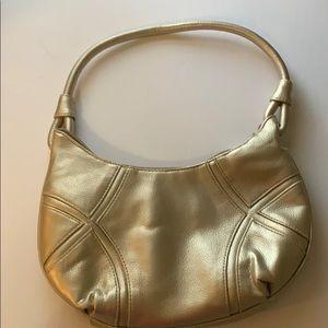 Handbags - VINTAGE GOLD PURSE